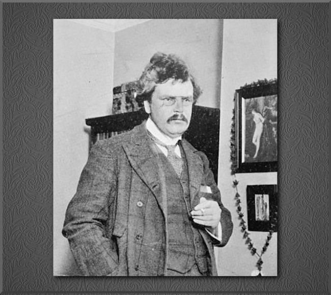 G. K. Chesterton ✝